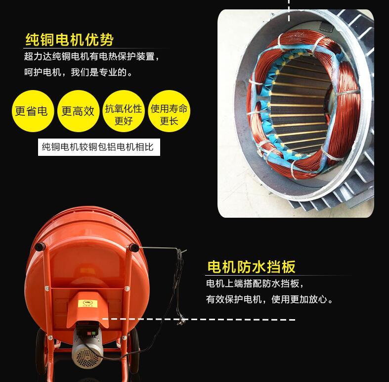小型搅拌机采用纯铜电机的优势.jpg