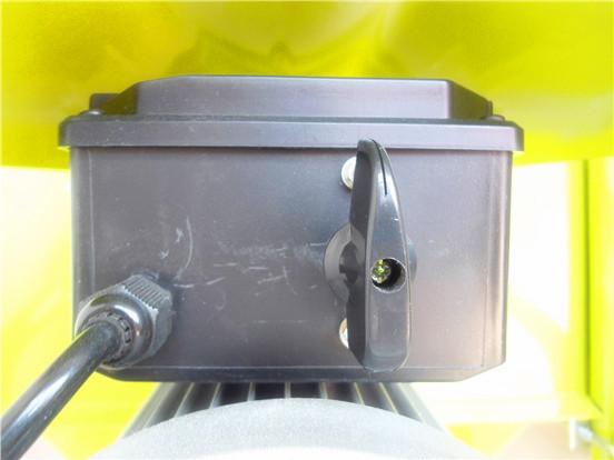 小型搅拌机控制开关细节图